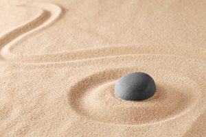 Mineral stone therapy representing healing from trauma after trauma therapy or PTSD treatment in Washington DC 20036 at Monarch Wellness and Psychotherapy