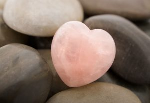 stone heart representing the healing that can come from eating disorder treatment. Our therapists offer online counseling for those in Washington DC, Virginia and Maryland even during the Quarantine.