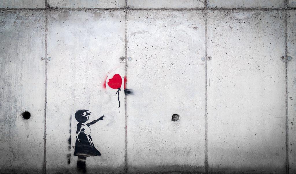 banksy balloon girl