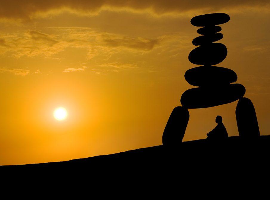 Balance zen mindfulness